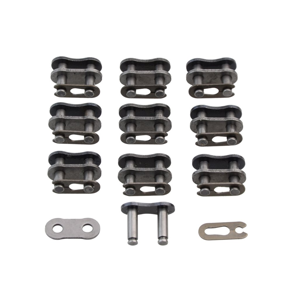 GOOFIT 10Pcs Master Link for Chinese made 110cc 125cc 150cc 200cc 250cc ATV Quad 4 Wheeler 420