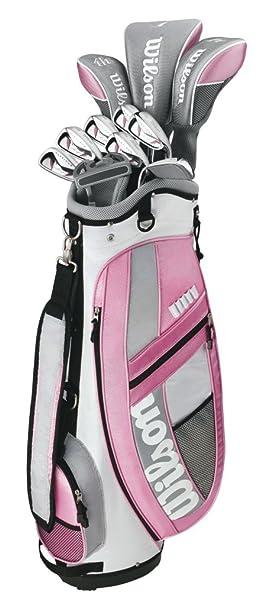 Wilson Hope Platinum - Juego de palos de golf (grafito, para ...