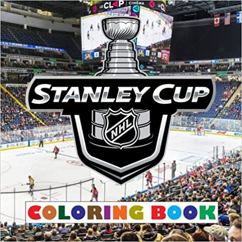 Stanley Cup: 2018 - NHL Stanley Cup coloring book containing all 31 team logos to color