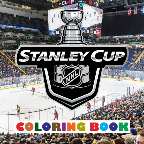 Download Stanley Cup: 2018 - NHL Stanley Cup coloring book containing all 31 team logos to color - Unique birthday present / gift for any young Ice Hockey fan. ebook