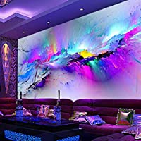 Sproud Custom Mural Wallpaper Modern Color Abstract Art Wall Painting Living Room Cafe Bar Ktv Mural Wallpaper Decor Papel De Parede 3D by sproud