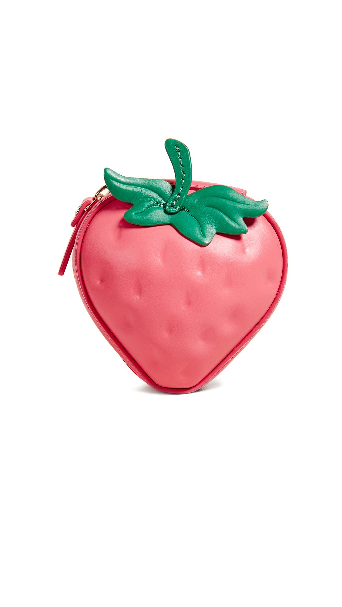 Kate Spade New York Women's Picnic Perfect 3D Strawberry Coin Purse, Multi, One Size by Kate Spade New York