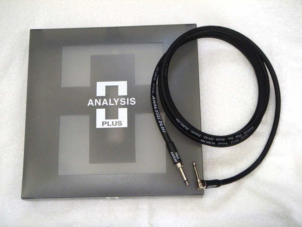ANALYSIS PLUS アナリシスプラス / Instrument Cable BASS OVAL 2.5m SL   B00UMV3QAS