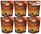 #8: Chestnuts Organic Whole Roasted Peeled Chestnuts (Chestnuts 5.3oz, 6-Pack)