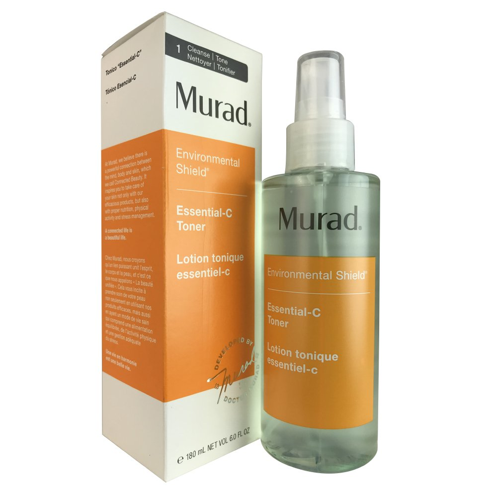 Murad Environmental Shield Essential-C Toner, 1: Clean/Tone, Packaging May Vary, 6 fl oz 15027