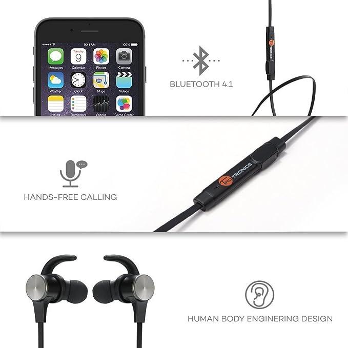 TaoTronics Auriculares Bluetooth 4.1 deporte inálambrico ...