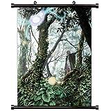 "Mushishi Anime Fabric Wall Scroll Poster (16"" X 21"") Inches"