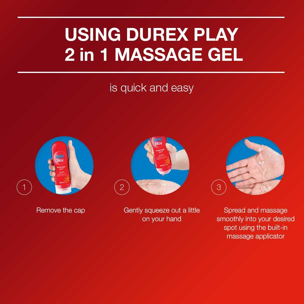 Durex Play Massage 2in1 Sensual 200 Ml Cloudtail India Intimate Lube 100 Free Kondom Ribbed Isi 3