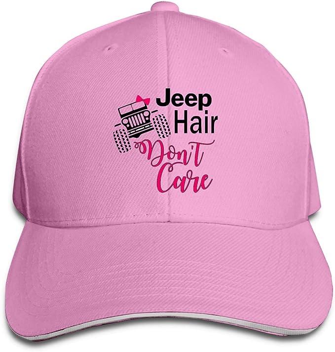 Unisex Jeep Hair Dont Care Sandwich Baseball Hip Hop Unisex Mesh ...