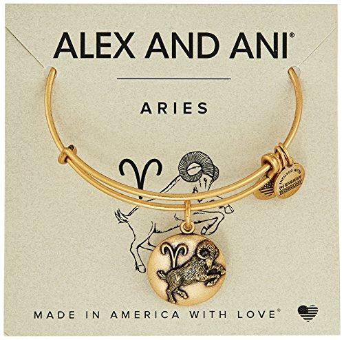 - Alex and Ani Aries Rafaelian Gold Bangle Bracelet