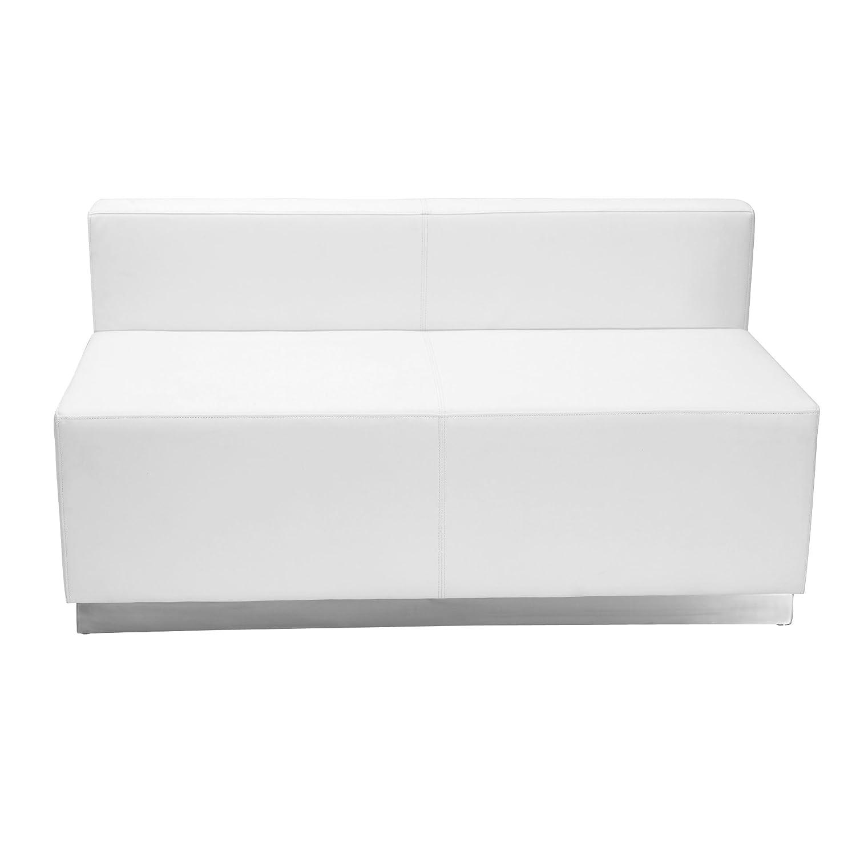 Amazon Flash Furniture HERCULES Alon Series White Leather
