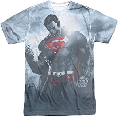 Superman Faster Than T-Shirt DC Comics Sizes S-3X NEW