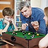 Mini Tabletop Pool Set- Billiards Game Includes