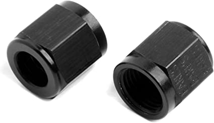 Earls AT581805ERL Ano-Tuff Tube Nut, Pack of 2