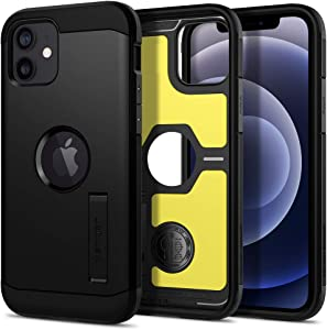 Spigen Tough Armor Designed for Apple iPhone 12 Case (2020) / Designed for iPhone 12 Pro Case (2020) - Black