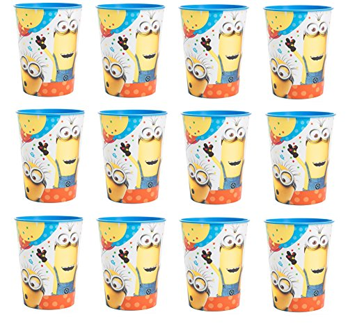 Despicable Me Lot of 12 Minions 16oz Party Plastic Cup ~Party Favor Supplies~ by Disney