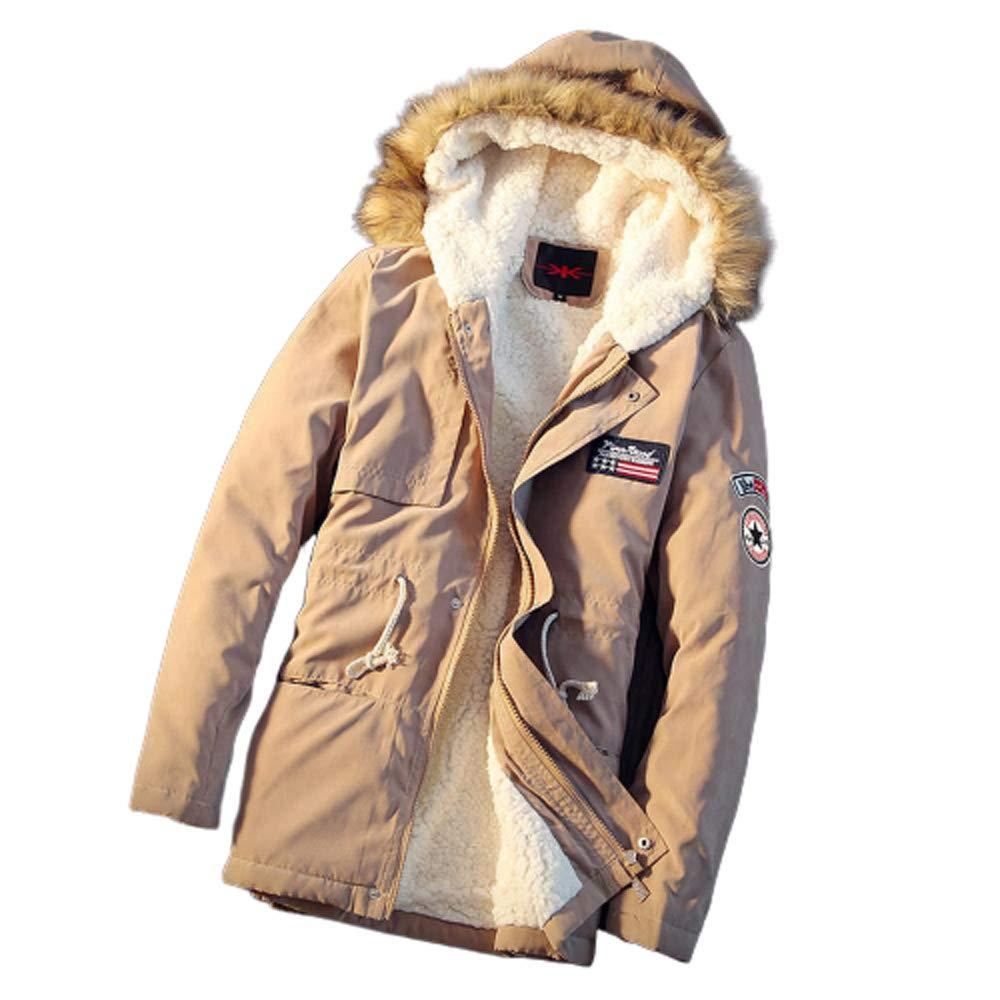 OP Herrenfleecejacke Herren Winter Resolve Jacke Wasserdicht Warm-Ski-Mantel Mit RV-Täschchen Hood