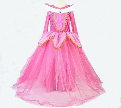 Disfraz de Princesa Aurora para niñas, Disfraz de Princesa ...