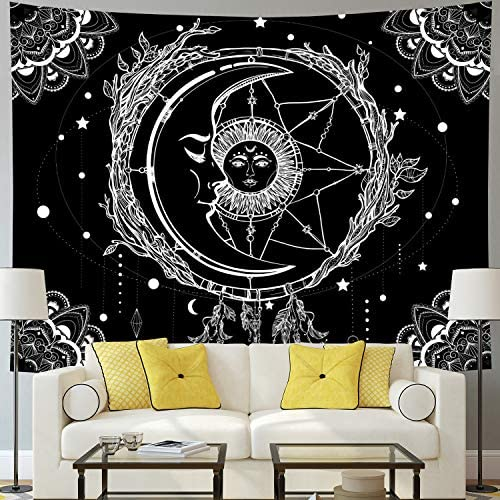 Tapestry Psychedelic Bohemian Celestial Dreamcatcher product image