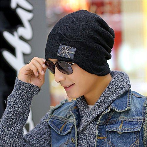 un Sombreros como 5 Maozi Coreana 3 Invierno Chao Regalo par Unión aliviando Hombres Lana más Sombreros Sombrero Lana de Tejer aqXw8RxqH