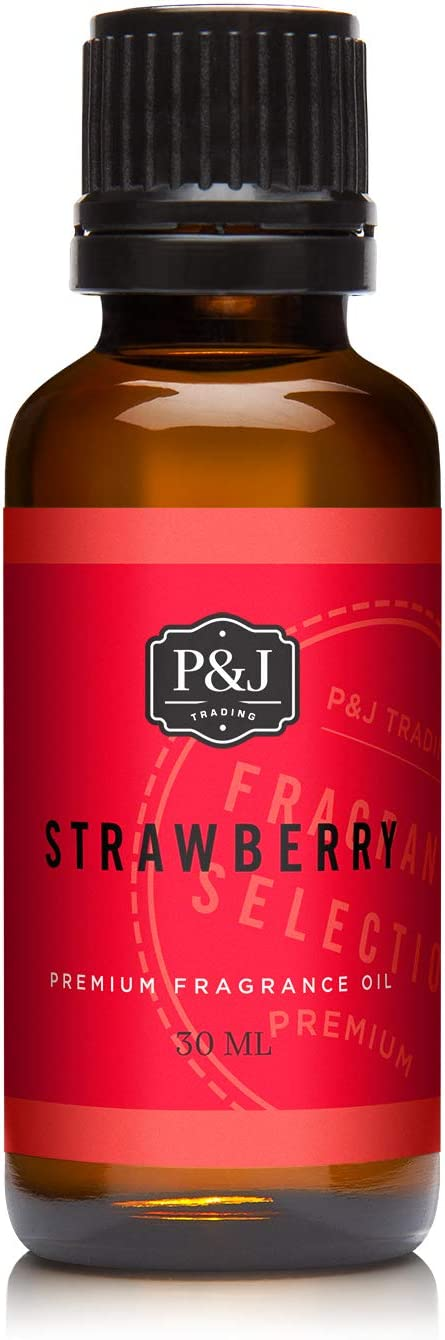 P&J Trading Strawberry Premium Grade Fragrance Oil - Perfume Oil - 1oz/30ml