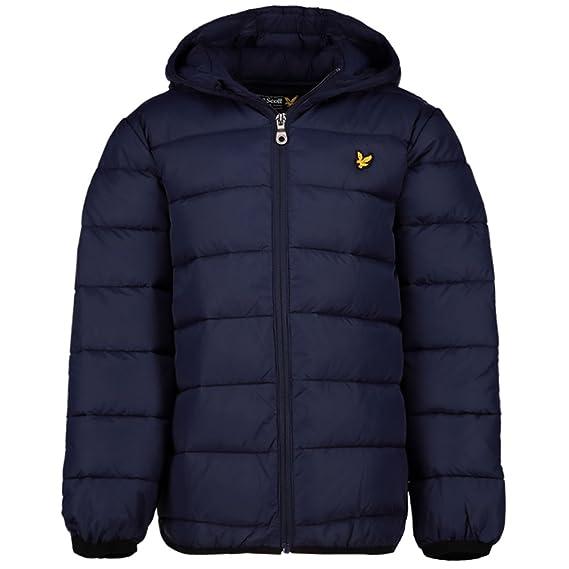 Lyle and Scott Junior Puffer Jacket, Navy Blazer: Amazon