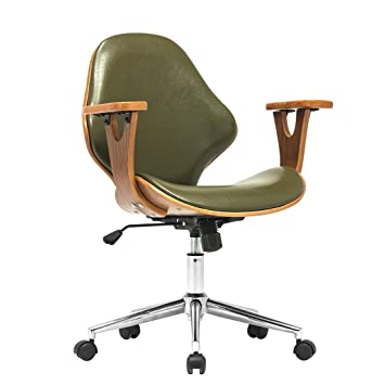 Amazon Com Porthos Home Lillian Adjustable Office Chair Green