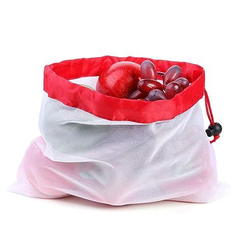Prosperveil bolsas reutilizables de malla para producir ...