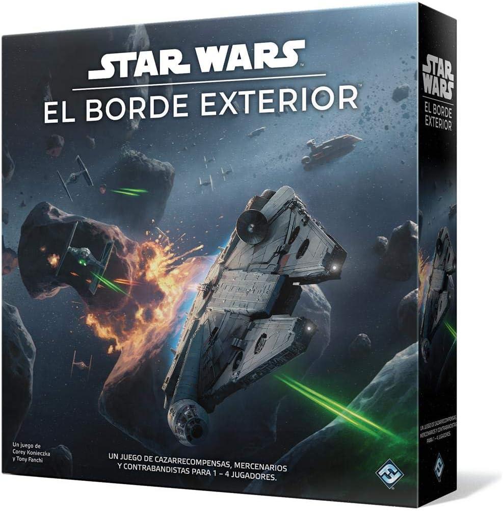 Fantasy Flight Games- Star Wars: El Borde Exterior - Juego de Mesa ...