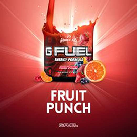 Amazon.com: G Fuel Fruit Punch Tub (40 Servings) Elite Energy and ...