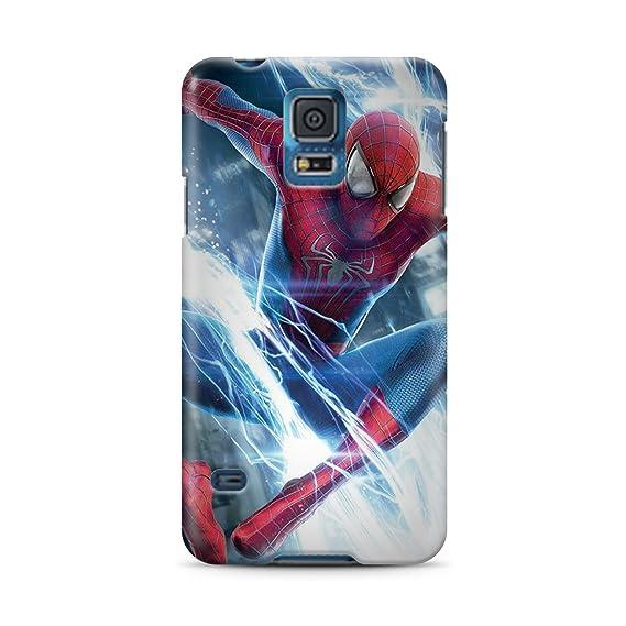 online store db579 6b95e Amazon.com: Spiderman for Samsung Galaxy S5 Hard Case Cover (sm14 ...
