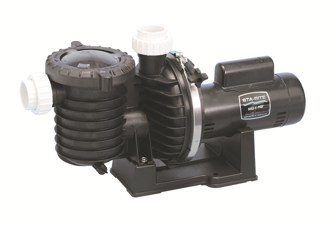 Pentair 5P6R6F-211 Max-E-Pro Energy Efficient Single Speed Single Phase Pool and Spa Pump, 1-1/2 HP, 50-Hertz by Pentair