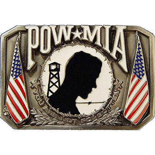 Pow Mia Belt Buckle 3-1/8 IN. ()