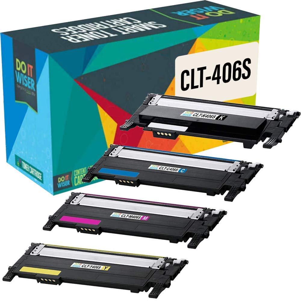 CLP-365 CLX-3300 CLX-3305 C410W Negro Cartucho de t/óner Compatible para Usar en Lugar de Samsung Xpress C460W CLT-P406C C460FW CLT-406S CLP-360 Do it Wiser CLX-3305FN