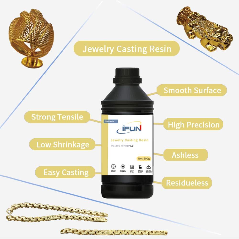 IFUN - Fundición de resina 3D para impresoras 3D DLP de 405 nm ...