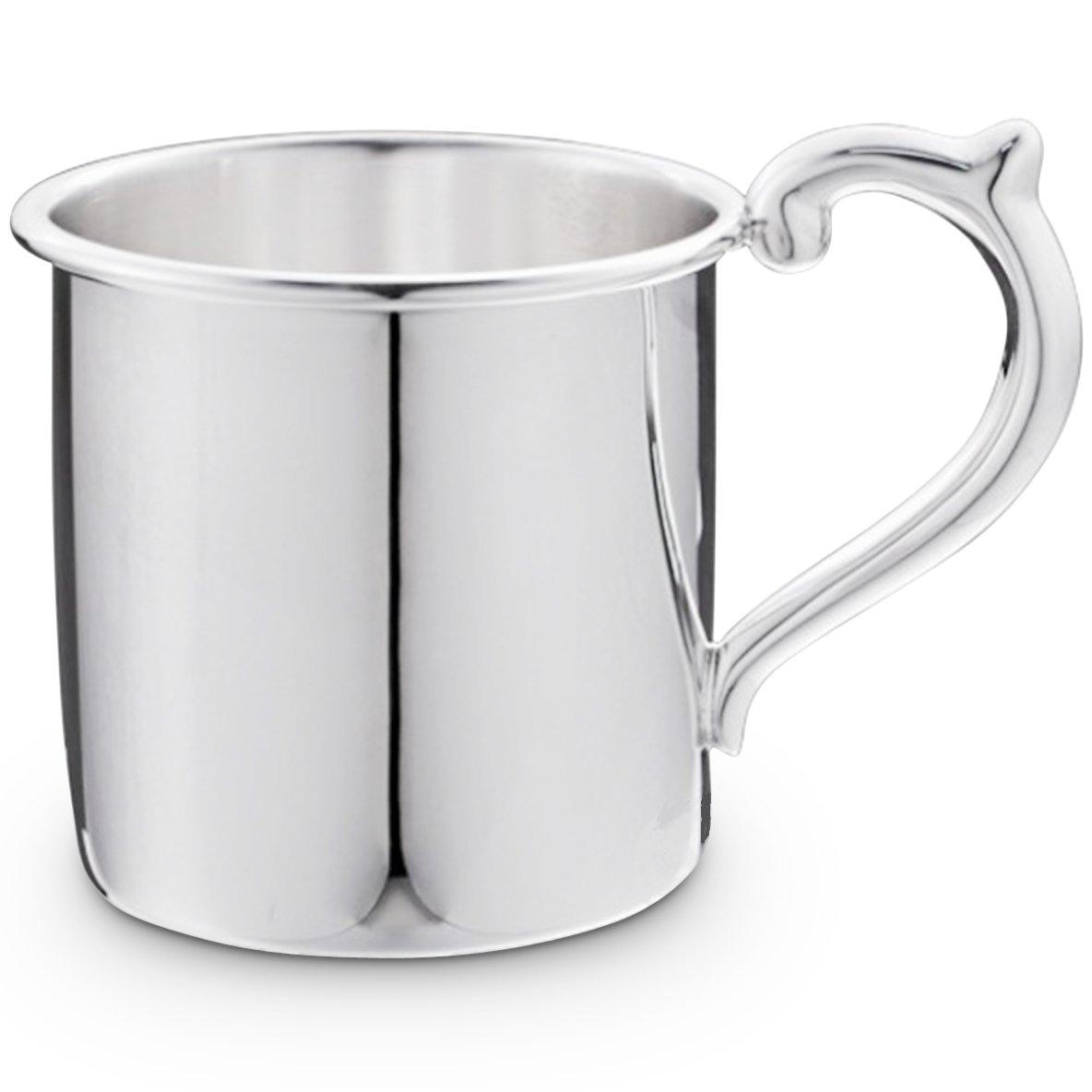 最高の品質の Cunill Cunill 3.5-ounceプレーン赤ちゃんカップ B00K6E7LRA、2.12-inch、スターリングシルバー B00K6E7LRA, 【楽ギフ_のし宛書】:bb6d92b6 --- a0267596.xsph.ru
