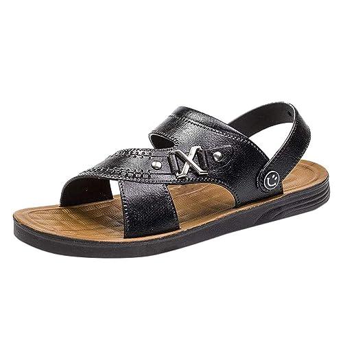 zycShang Sandales Hommes Été Mode Confortable Chaussures de Plage ...