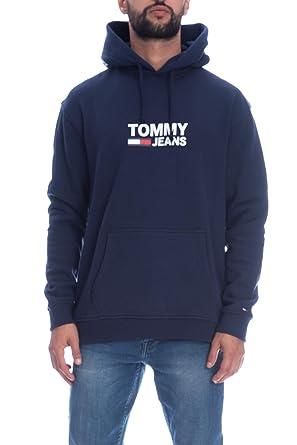 Tommy Hilfiger DM0DM05253002 Sudaderas Hombre Azul XS: Amazon.es: Ropa y accesorios