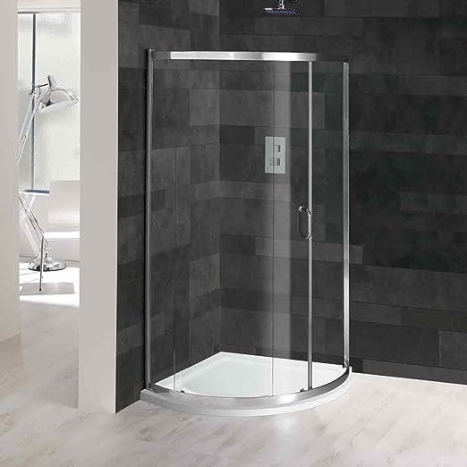 G6 sola puerta cuadrante de ducha con bandeja de ducha 900 x 900 ...