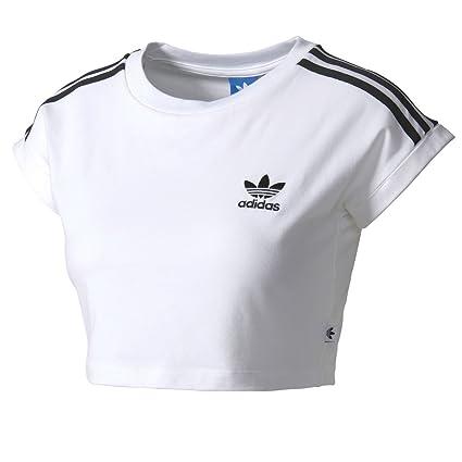 Adidas Cropped Camiseta, Mujer