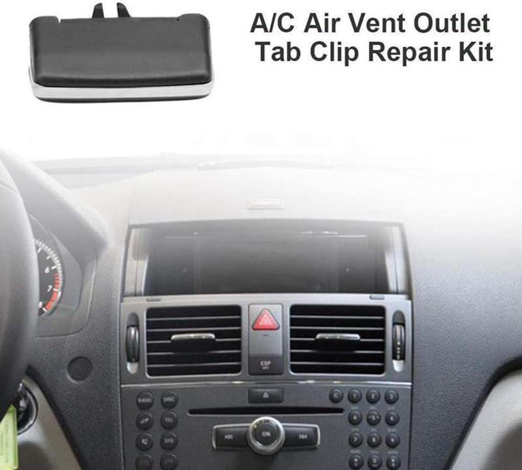 Con ventilazione ARIA CONDIZIONATA A//C vent clip pagaia per Benz w204 c260 c300 glk200 glk300