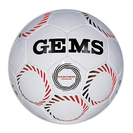 GEMS Vertigo - Balón de fútbol, Bianco, 4: Amazon.es: Deportes y ...