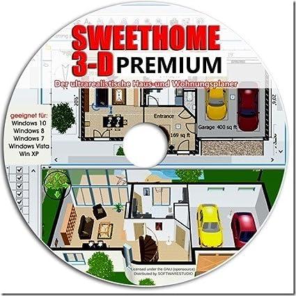 Sweet Home 3d Raumplanung Premium Edition Mit Mehr Als 1000 3d
