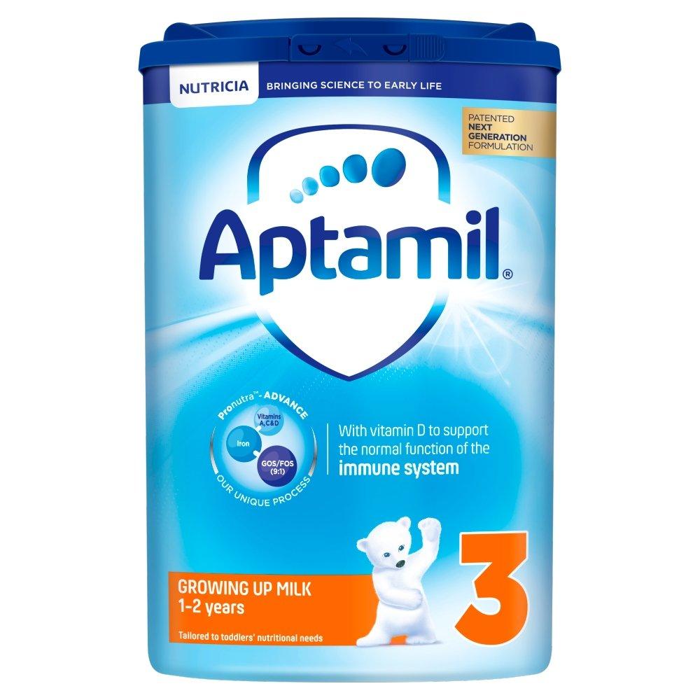 Aptamil Growing Up Milk Stage 3, 1-2 Years, 800 g, Pack of 6 NUTRICIA LTD