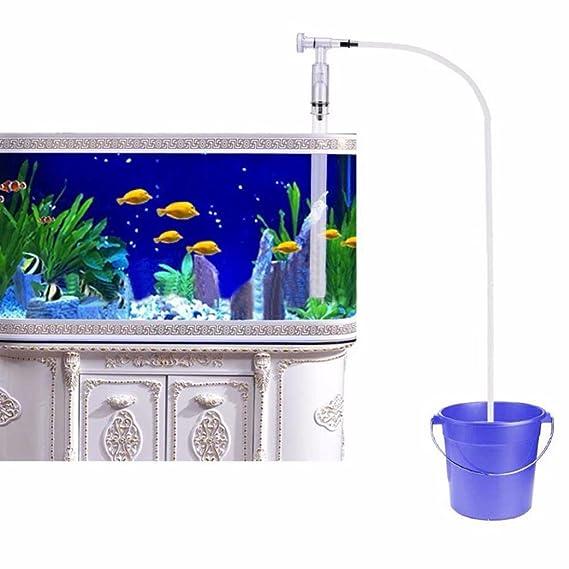 Gaddrt - Limpiador de Acuario, depósito de Peces, Doble Cabeza, con Ventosa para Peces, Tanque de Agua, Limpiador de Grava, Filtro de Agua, ...
