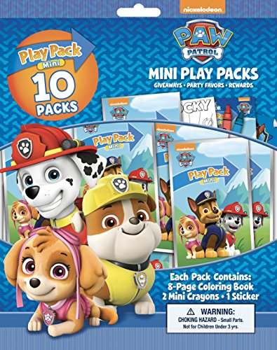 Bendon Paw Patrol 10 Mini Play Packs]()
