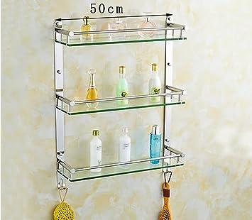 Badezimmer Regal Badezimmer Gehartetes Glas Regal Edelstahl