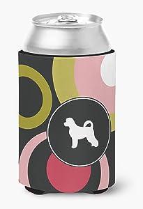 Caroline's Treasures KJ1090CC Portuguese Water Dog Can or Bottle Beverage Insulator Hugger, Can Hugger, multicolor