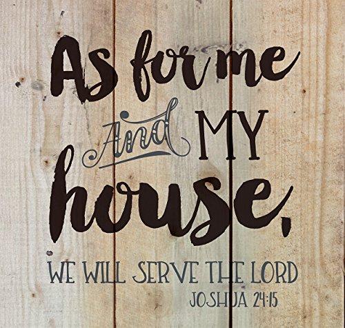 As Me My House Joshua