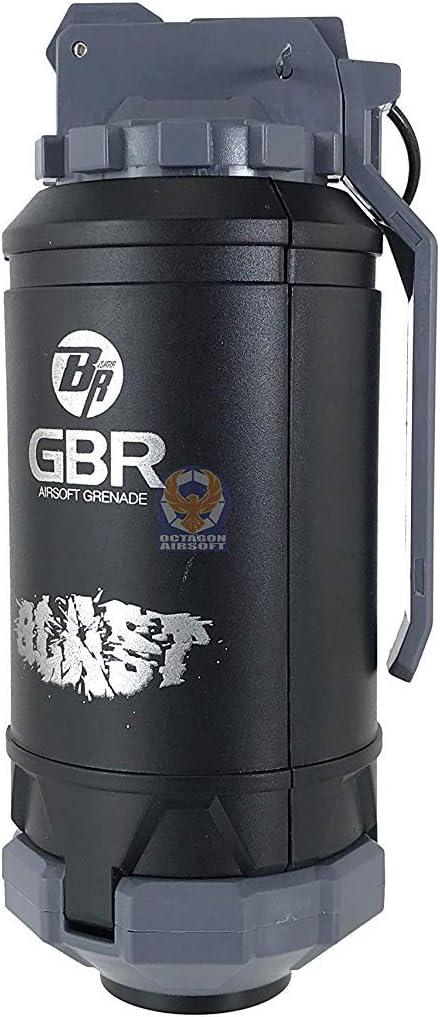 Airsoft Granada de Muelle GBR Explota Cuando choca Construcción Durable del ABS